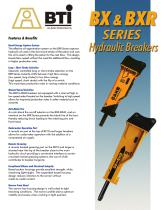 BX / BXR Series Hydraulic Breakers