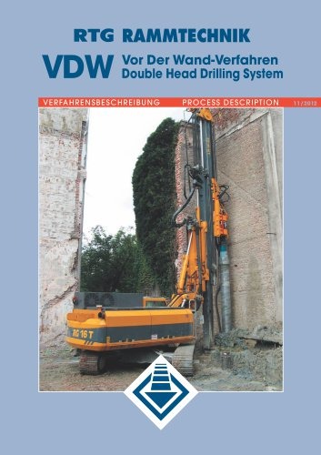 VDW Double Head Drilling System