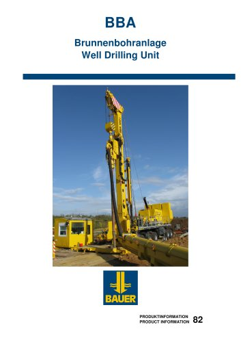 Well Drilling Unit