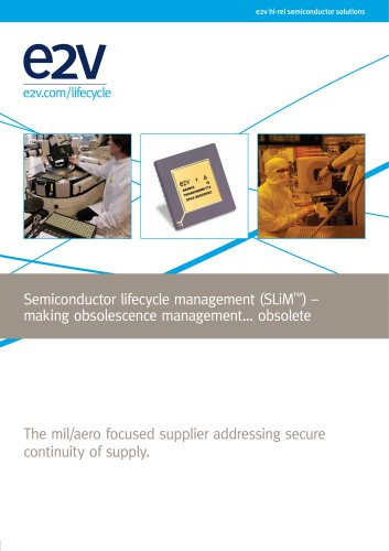 Semiconductor Lifecycle Management (SLiM) brochure