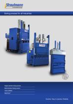 baling presses brochure