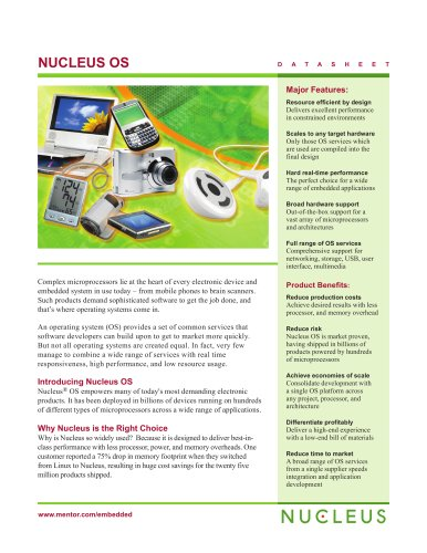 Embedded Systems Nucleus RTOS