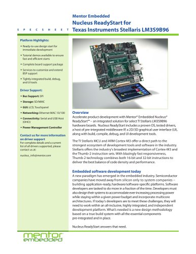 Texas Instruments Stellaris LM3S9B96