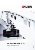 PACKAGING SOLUTIONS. PRODUCT CATALOGUE 2021