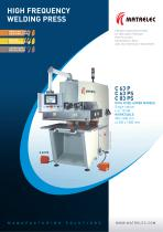 High frequency / Radio frequency welding press 6 to 15 kW