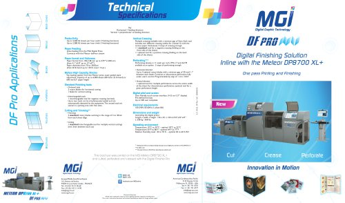MGI DF Pro