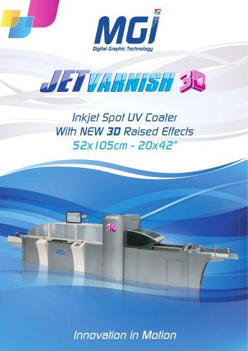 MGI JETvarnish 3D - 3D Spot UV Coater
