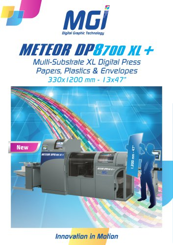 MGI Meteor DP8700 XL+