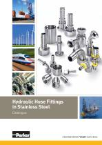 Hydraulic Hose Fittings in Stainless Steel