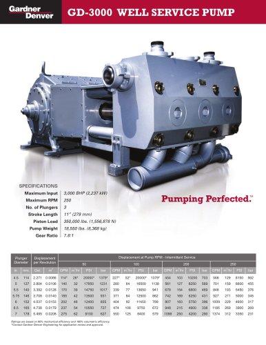 GD-3000 Pump Model