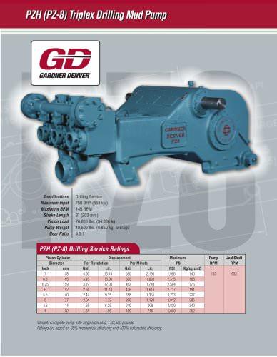 PZ-8 (PZH) Pump Model