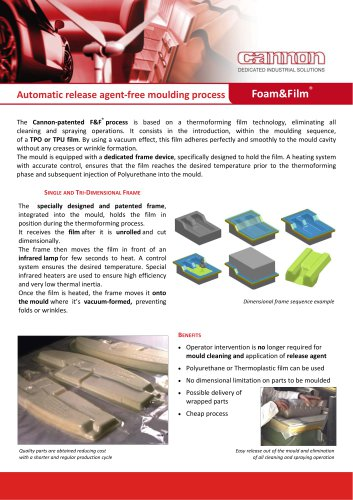 Automatic release agent‐free moulding process