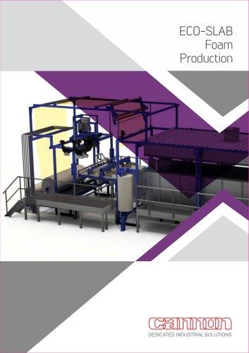 ECO-SLAB Foam Production