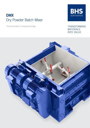DMX Dry Powder Batch Mixer