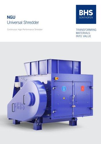 NGU Universal Shredder