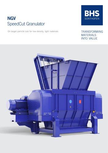 NGV SpeedCut Granulator