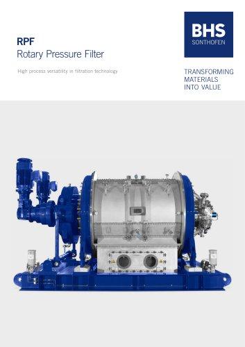 RPF Rotary Pressure Filter