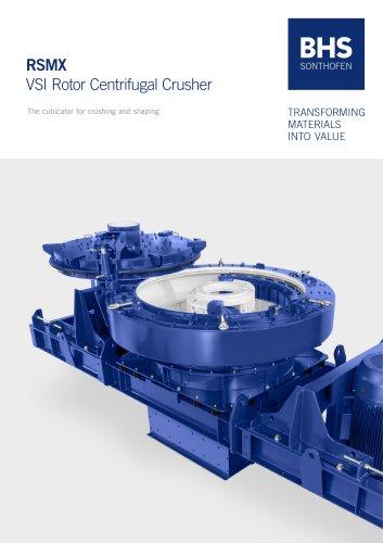 RSMX VSI Rotor Centrifugal Crusher