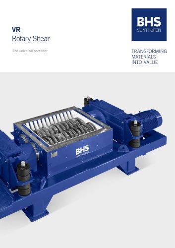 VR Rotary Shear