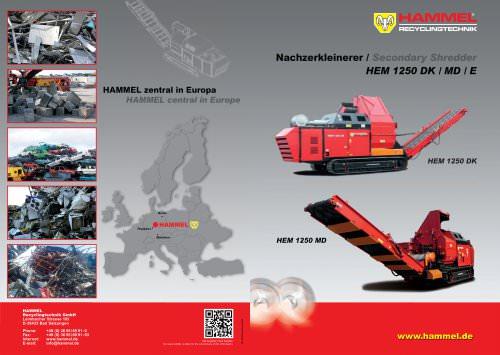 HAMMEL HEM 1250 DK / MD / E