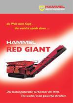 HAMMEL-primary shredder type VB 950 RED GIANT