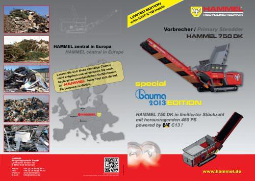 HAMMEL VB 750 DK - bauma special 2013
