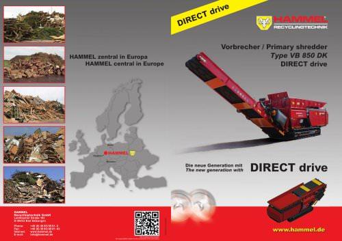 HAMMEL VB 850 DK DIRECT drive
