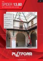 SPIDER 13.80 - Technical Leaflet