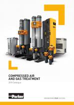 COMPRESSED AIR AND GAS TREATMENT 2018 Catalogue