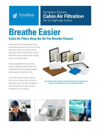 Cabin Air Filtration