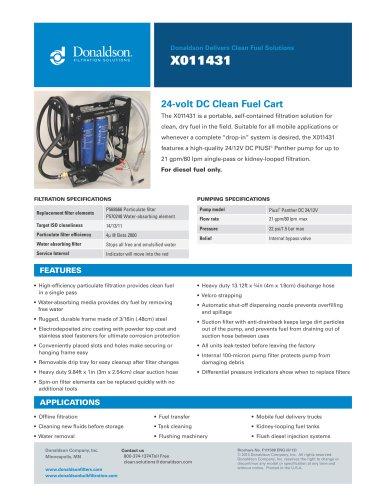 Clean Fuel Cart X011431