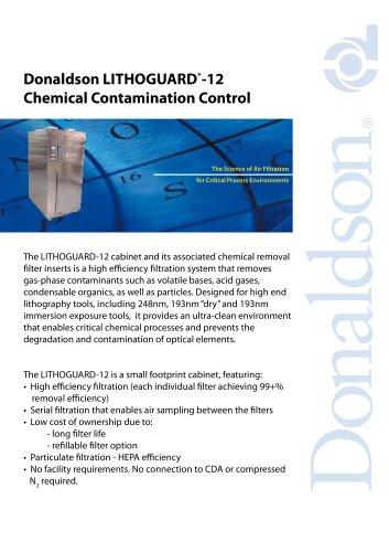Donaldson LITHOGUARD ® -12 Chemical Contamination Control