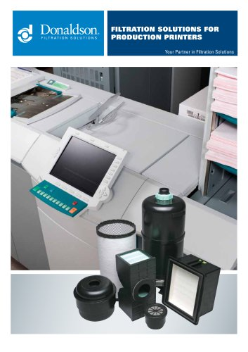 FILTRATION solutions for production printers