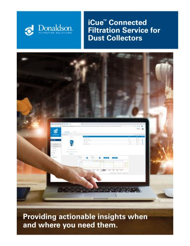 iCue™ Connected Filtration Service for Dust Collectors