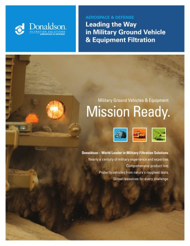 Leading the Way in Military Ground Vehicle & Equipment Filtration