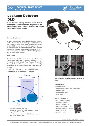 Leakage Detector DLD
