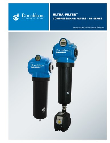 Ultra-Filter Compressed Air Filters - DF Series