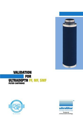 Ultradepth FF, MF & SMF Coalescing Filter Elements