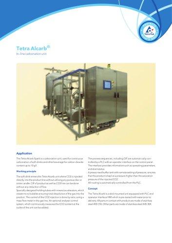 Tetra Alcarb® In–line carbonation unit