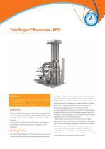 Tetra Magna Evaporator ? MVR
