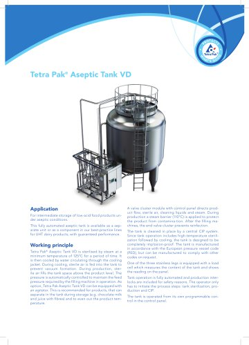 Tetra Pak® Aseptic Tank VD