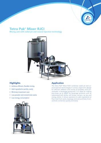Tetra Pak® Mixer RJCI