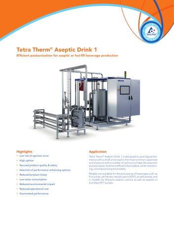 Tetra Therm® Aseptic Drink 1