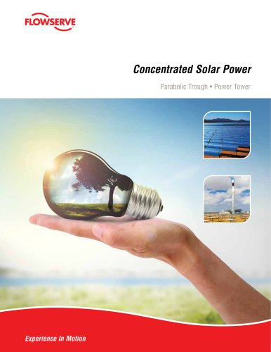 Concentrated Solar Power Pumps