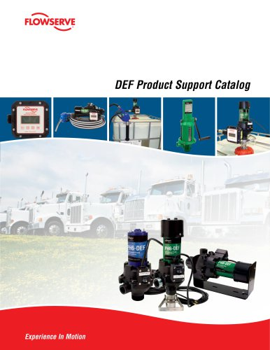 DEF Product Support Catalog