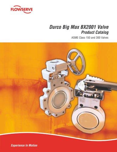 Durco Big Max BX2001 Valve Product Catalog