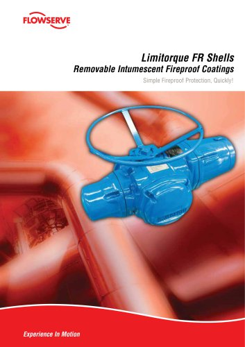 Limitorque FR Shells - Removable Intumescent Fireproof Coatings