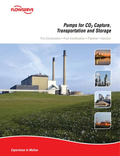 Pumps for CO2 Capture, Transportation and Storage