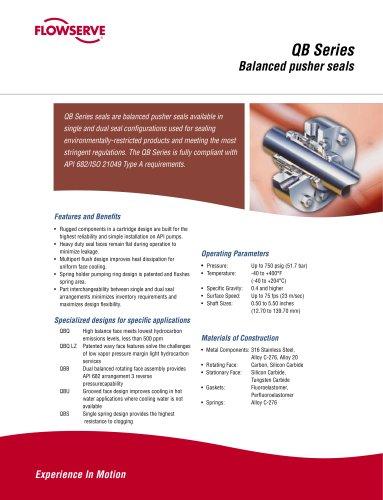 QB Series Seal Brochure