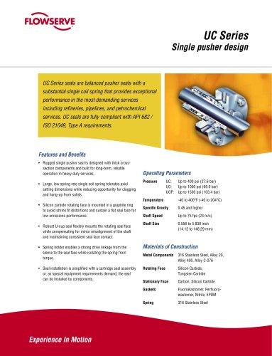 U Series Seal Brochure